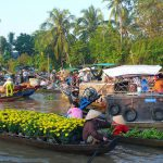 Daily trip Mekong delta Cai Be floating market by speed boat