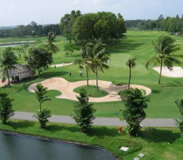 Private car rental Ho Chi Minh golf course